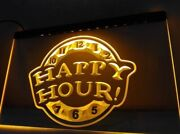 Happy Hour Beer Bar Pub Club New Led Neon Light Sign  Home Decor Crafts