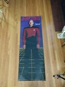 Star Trek The Next Generation Captain Luc Picard 74 By 26 Large Door Poster