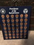 Official Miniature Presidential Series Medals Struck By The U.s. Mint