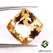 5.04 Cts Certified Natural Morganite Cushion Cut 11x11mm Best Quality Loose Gems