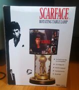 Scarface The World Is Yours Rotating Table Lamp Rare In Box Never Opened
