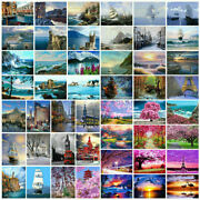 Diy Paint By Number Kit Digital Oil Painting Art Wall Home Decor Gift Scenery