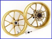 Ducati Sport1000s Marchesini M10s Aluminum Forged Wheel Front And Rear Set Yyy