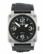 Mens - Bell And Ross Aviation Pre Owned Watch Ref Br 03-92-5