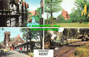 R526746 Around Kent. The Old Mill. Whitstable. Oast Houses. Photo Precision Limi