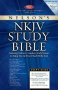 Nelson's Nkjv Study Bible - Personal Size - Paperback By Thomas Nelson - Good