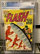 Flash 109  8.0 Graded White Pages 2nd App Mirror Master