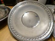 Reed And Barton - Round Silver Tray - 1203 A - 10 1/2 Inch