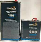 180 Express Fast Dry 58 Hs Clear Coat Hi Gloss 4.2voc 7.5l Kit Made In Germany