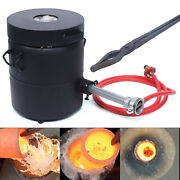 6kg Gas Melting Furnace Propane Forge Metal Copper Gold Silver Casting Tool Usa