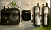 Uniden Handset Cordless For Land Line Dxai-4288-2 2.4 Gh Caller Id And More