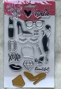 New 18 Piece Clear Stamp And Die Set Gal Meets Glam By My Mind's Eye Gmg220