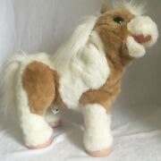 Furreal Friends Fur Real Baby Butterscotch Toy Talking Horse Pony 17 Inch