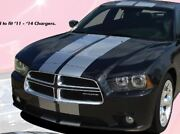 N Charge Rally Stripe Fits 2011-2014 Dodge Charger Srt Gt Graphic Decal 3m Film