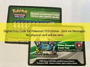 Pokemon Tcg Online Codes Huge Variety And Battle Styles - Via Digital Messages