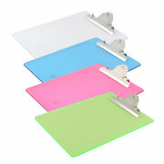 Office Plastic A4 Paper Holder Writing Board Clipboard 315 X 230mm