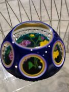 Whitefriars Collection Caithness Iris Bouquet Paperweight 6/25 Limited Ed