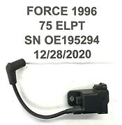 Force Outboard 75hp Cdm Module 827509a10 Freshwater Cleaned And Ready