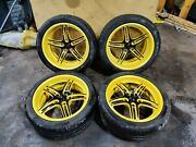 ⭐ Porsche 911 996 Carrera Staggered 18 Front And Rear Oz Racing Wheels Tire Set