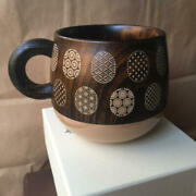 【white】wooden Lacquer Coffee Cup Made In Japan Starbucks New