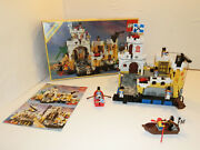 Tb Lego 6276 Eldorado Fortress Pirates With Boxed And Ba Used 100 Complete