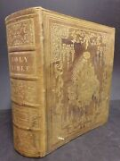 1850 Lg Family Bible - Prted In Philadelphia By John Perry. Complete W Apocrypha