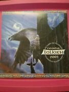 Tolkien 2001 The Lord Of Rings Calendar Illustrated. By John Howe