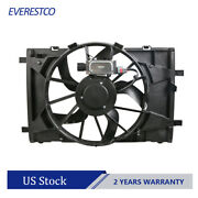 Radiator Cooling Fan Motor Assembly For Ford Fusion Lincoln Mkz Mercury Milan