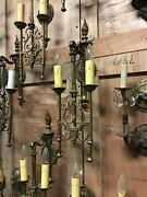 Wonderful Antique Wall Sconce From Michigan Mansion