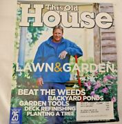 This Old House Magazine April 2004 Lawn And Garden - Backyard Pond - Lawn Tractors