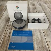Google Nest Thermostat Charcoal 2020 Edition