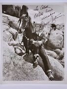 Gene Autry Signed8x10 Photograph The Singing Cowboy / Phantom Empire Collectible