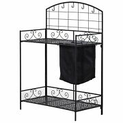 Outdoor Planting Potting Bench Table Raised Large Wall Tools Metal Plant Garden
