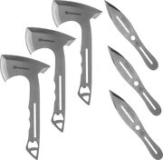 Smith And Wesson 1122228 Throwing Combo 3 Axes 3 Knives