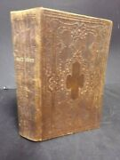 1865 King James Version Bible. Publ America Bible Society, New York. Signed