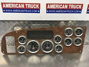 Kenworth 10 Gauge Instrument Dash Cluster P/n 558383 And 17-05005m002 And 17674ac