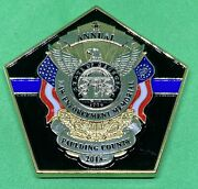 State Of Georgia 2018 Annual Law Enforcement Memorial Challenge Coin