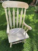 Antique American Converted Rocking Chair