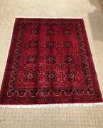 Stunning Handmade Natural Dyed Double Knotted Washable Turkoman Kilim Rug 5and039 11
