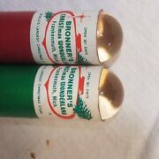 Vintage Calidascopes-set Of Two From Bronners Christmas Wonderland Frankenmuth