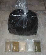 5 Lbs Of Worm Castings + Bat Guano + Fish Meal + Crab Meal + Oyster Shell + Kelp