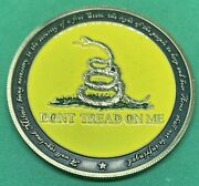 We The People - Dont Tread On Me - Second Ammendemnet Challenge Coin
