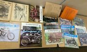 The Antique Motorcycle Triumph Morgo M.a.p. Cycle Ent. Inc Magazines Lot Of 15
