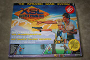 Rare 1986 Remco Xsl Phaser Command Lazer Tag Infrared Game Systems