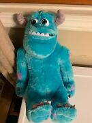 Disney Monsters University My Scare Pal Sulley Talking Plush 13andrdquo Spin Master