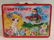 1980's Vintage Japanese Candy Candy Metal Lunch Box From Japan Rare