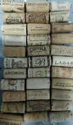 Natural Used Wine Corks Lots From 1 Through 200 - Recycled Corks