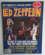 Led Zeppelin Magazine Complete 10 Year Disc History Jimmy Page Robert Plant