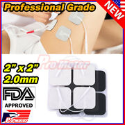 50pcs Bulk Replacement Tens Electrode Pads Ems For Intensity Twin Stim Iii Unit