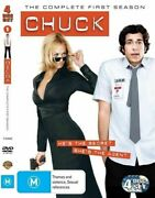 Chuck The Complete First Season Dvd Region 4 Very Good Condition Dvd T86